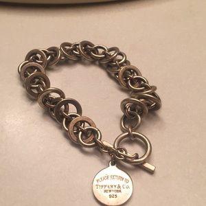 Silver Tiffany & co bracelet